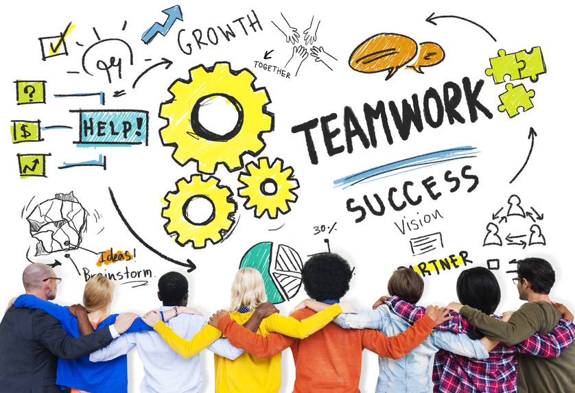 Teamwork Team Together Collaboration Diversity People Friends Co
